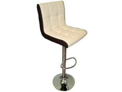 Барный стул Лого LM-5006 кремово-коричневый
