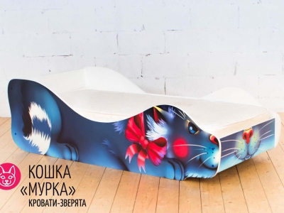 Детская кровать Кошка - Мурка