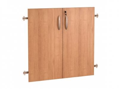 Двери ЛДСП 2 секции с замком 61.59 Альфа 750х790