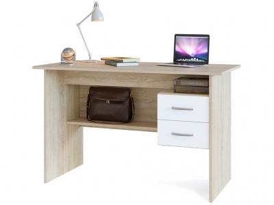 Компьютерный стол Сокол СПМ-07.1 Дуб Сонома/Белый
