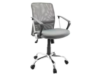 Компьютерное кресло Dikline SN11-12 сетка серая