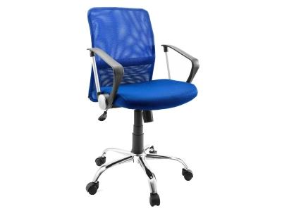 Компьютерное кресло Dikline SN11-13 сетка синяя