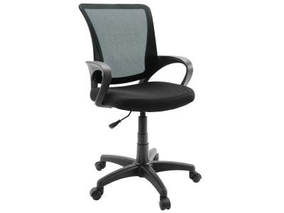 Компьютерное кресло Dikline SN13-11 сетка чёрная/чёрная