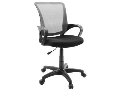 Компьютерное кресло Dikline SN13-12 сетка серая/чёрная