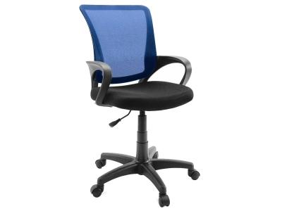Компьютерное кресло Dikline SN13-13 сетка синяя/чёрная
