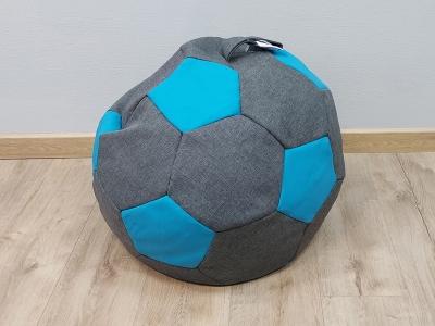 Кресло-мешок Мяч S кат.1 savana grey-neo azure