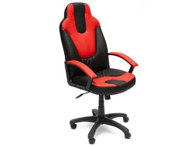 Кресло Neo 2 иск кожа Чёрный - Красный