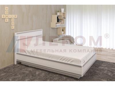 Кровать c подъемным механизмом КР-1002 1400х2000 Снежный Ясень
