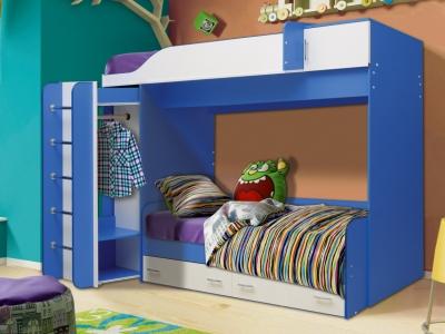 Кровать детская двухъярусная Юниор-8