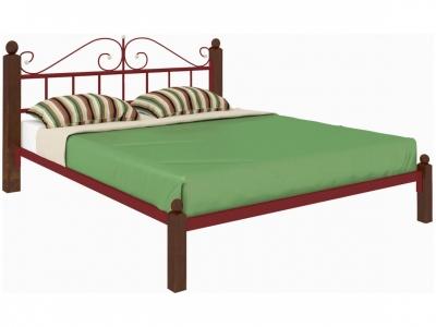 Кровать Диана Lux красная