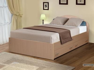 Кровать двойная на уголках №3 с ящиками Матрица