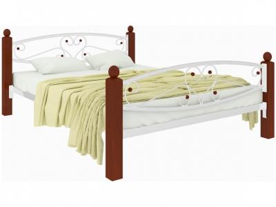 Кровать Каролина Lux plus белая