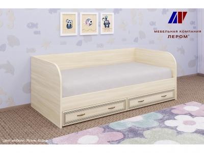 Кровать КР-1042 900х1900 Ясень Асахи