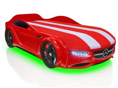 Кровать-машинка Romack Junior AMG красная