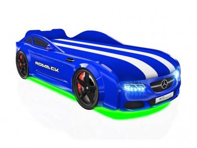 Кровать-машинка Romack Real-M AMG синяя