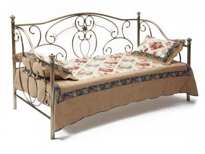 Кровать металлическая Jane Day Bed Античная Медь