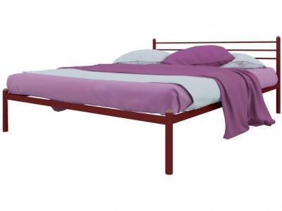 Кровать Милана красная