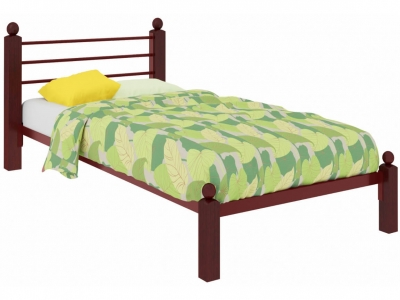 Кровать Милана Мини Lux красная