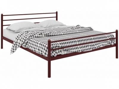 Кровать Милана Plus коричневая