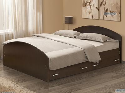 Кровать на уголках №2 с ящиками Матрица