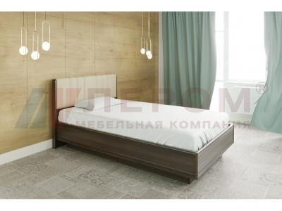 Кровать с мягким изголовьем КР-1012 1400х2000 Акация Молдау