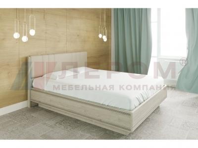 Кровать с мягким изголовьем КР-1013 1600х2000 Гикори Джексон светлый