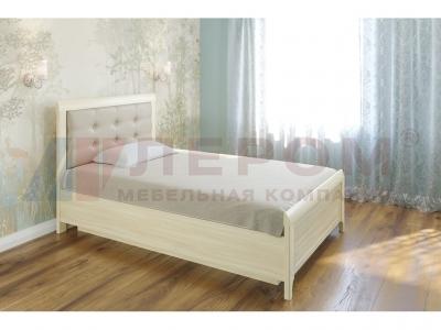 Кровать с мягким изголовьем КР-1032 1400х2000 Ясень Асахи