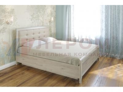 Кровать с мягким изголовьем КР-1034 1800х2000 Гикори Джексон светлый