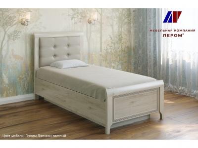 Кровать с мягким изголовьем КР-1035 900х1900 Гикори Джексон светлый