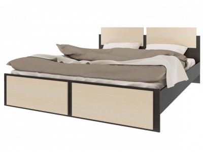 Кровать с основанием Элиза СТЛ.138.13 1645x805x2060 Венге-Дуб молочный Сп.место 1600х2000