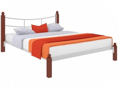 Кровать София Lux белая