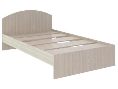 Кровать Веста 0.9 без ящика 2040x940x700 дуб млечный
