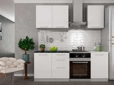 Кухня Капля белая