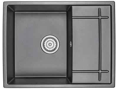 Кухонная мойка Granula 6501 Шварц
