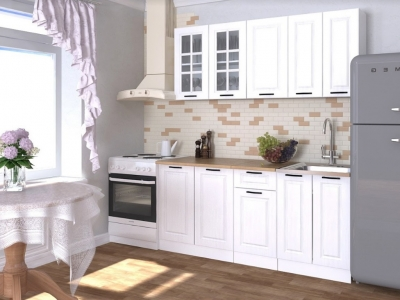 Кухонный гарнитур Белый вегас 1800