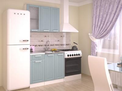 Кухонный гарнитур Прованс Роялвуд голубой 1000
