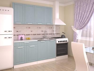 Кухонный гарнитур Прованс Роялвуд голубой 1600