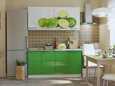Кухонный гарнитур Риал К-33-зеленый 1600