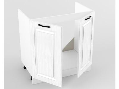 Нижний шкаф Н 800 мойка 822х800х473 Белый Вегас