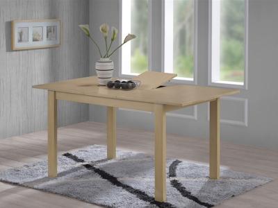 Обеденный стол 6777-1 Дуб Антик Белый