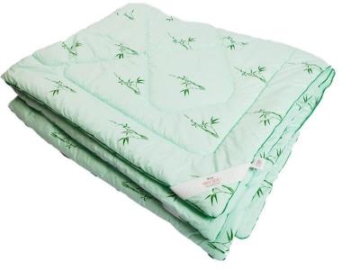 Одеяло стеганое на бамбуковом волокне всесезонное