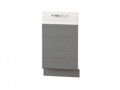 Панель для посудомоечной машины на 450 74.70 Графит 450х820