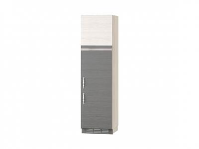 Пенал под встраиваемый холодильник лев-прав 74.77 Графит 600х570х2230