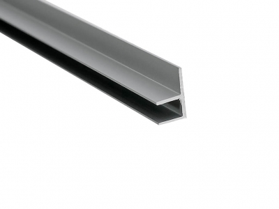 Планка для стеновой панели угловая Сокол Серый
