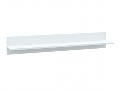 Полка Асти АПЛ1150.1 белый глянец