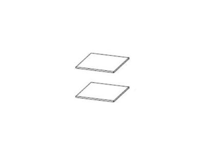 Полки для пенала универсальный Степ 1 467х512 2 шт.