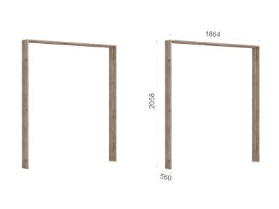 Портал шкафа 4-х дверного Джулия