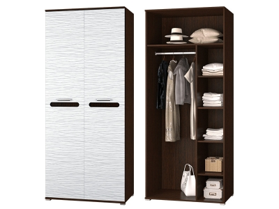 Шкаф 2-х дверный в спальню Мишель