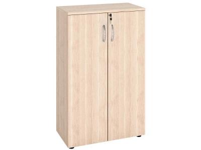 Шкаф 3 секции с дверями ЛДСП 63.64 Альфа 760х390х1230