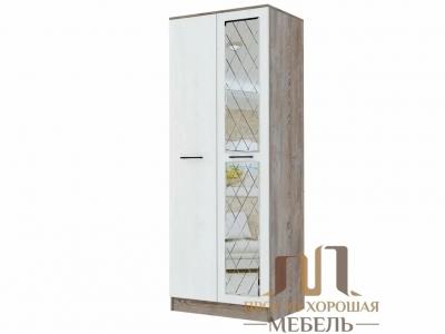 Шкаф Амаретти 1 800х2100х540 с зеркалом ромб